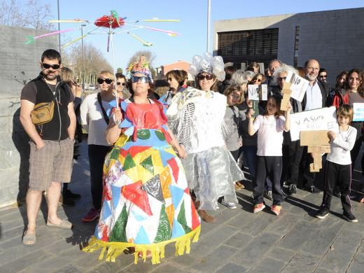 (Fotos) Los jóvenes exigen luchar contra el cambio climático