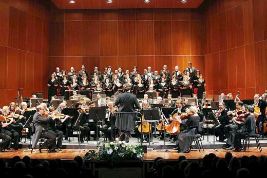 Coro del Teatre Principal de Palma (Foto: TP Maó)