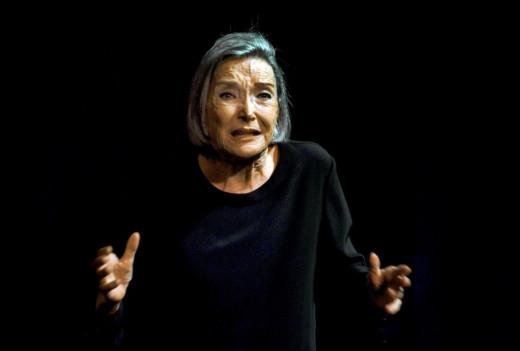 Núria Espert, durante una actuación.