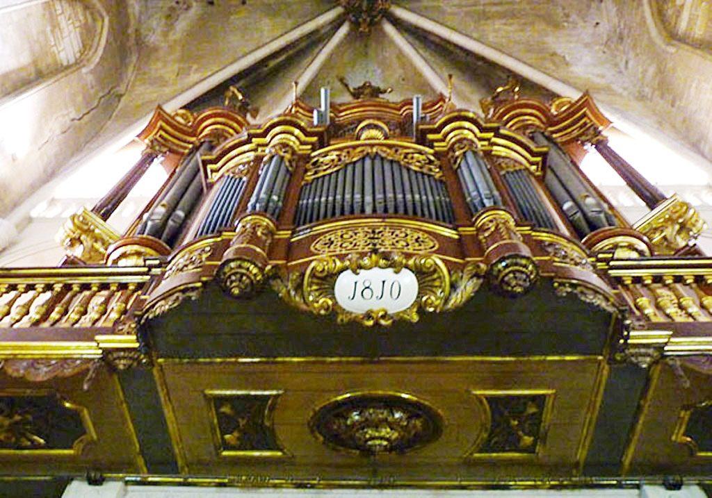 Organo de Santa María.