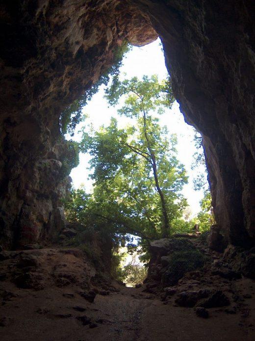 Interior de la cueva (Fotos: Consell)