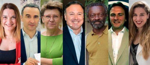 Imagen de los principales canditatos en Balears.