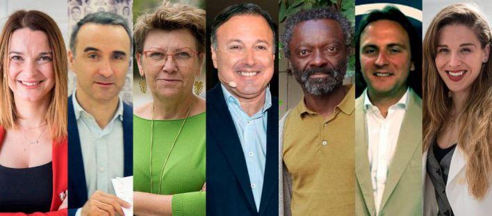 Imagen de los candidatos en las islas.