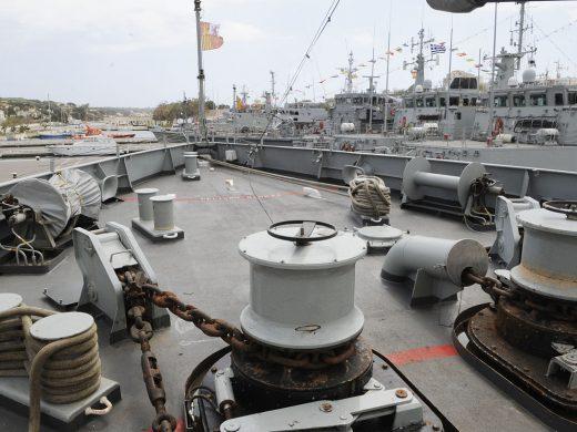 (Fotos) En las entrañas de la Armada Española