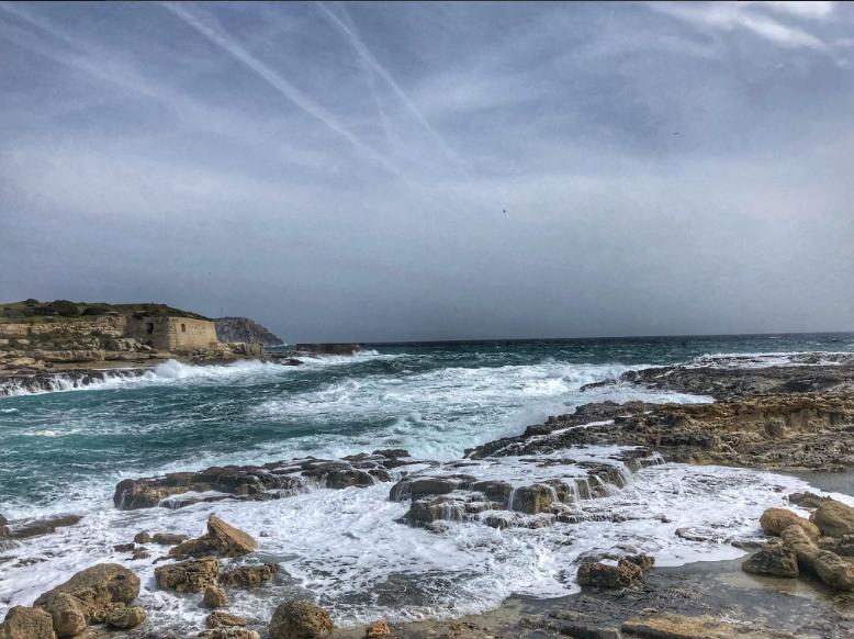 El viento del norte dificultará el tráfico marítimo (Foto: Xavi Pons Cladera)