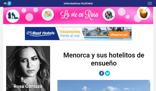 Captura de pantalla del artículo.