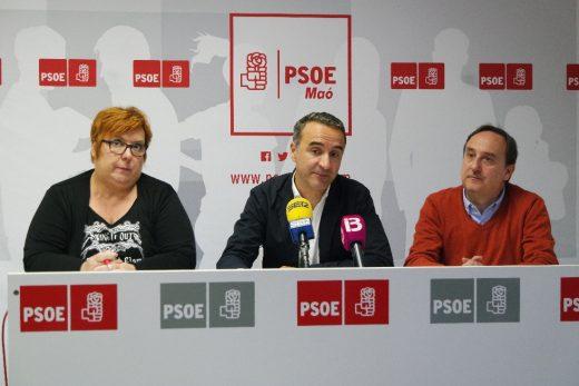 Carme García Querol, Pere Joan Pons y Pau Morlà, candidatos socialistas