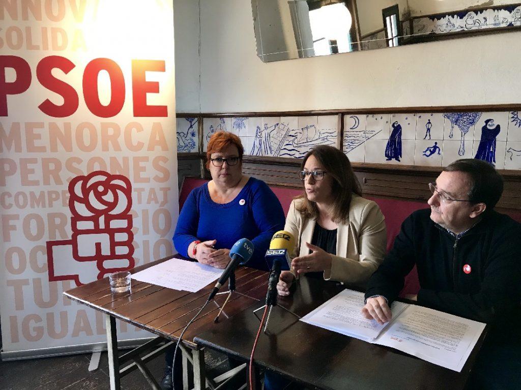 Carme Garcia Querol, Susana Mora y Pau Morlà en la presentación