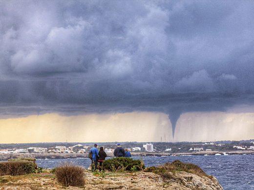 (Fotos) Más imágenes del cap de fibló, visto desde Cala'n Blanes