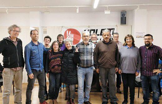 Miembros de la candidatura municipal de Volem Sant Lluís
