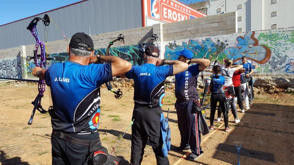 Un momento de la competición (Fotos: Club D'Arc Mahó)