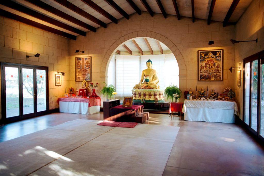 Centro budista.