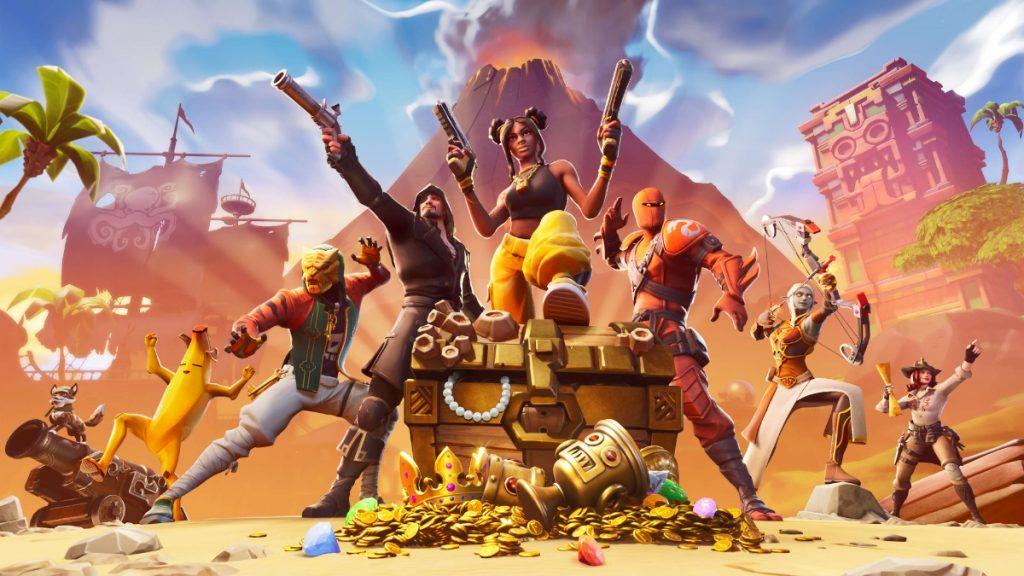 Imagen promocional del Fortnite.