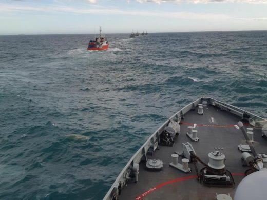 (Fotos) La Armada Española ya está en Menorca