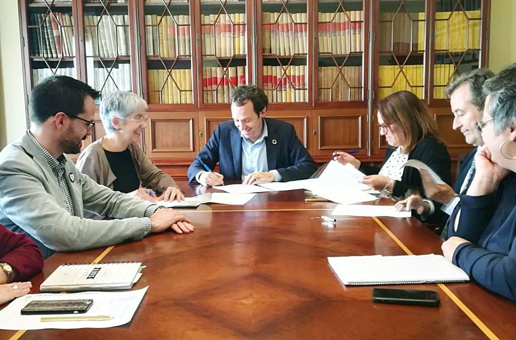 Imagen de la firma del protocolo