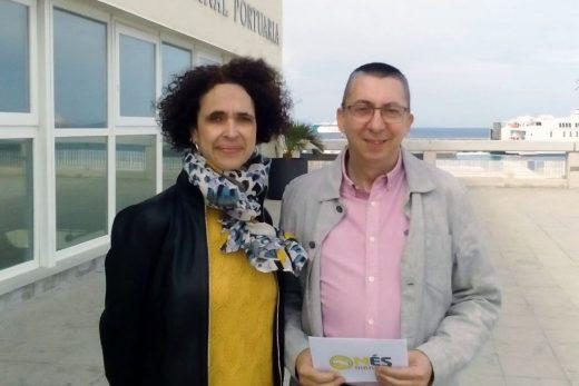 Patrícia Font y Miquel Àngel Maria, candidatos de Més per Menorca