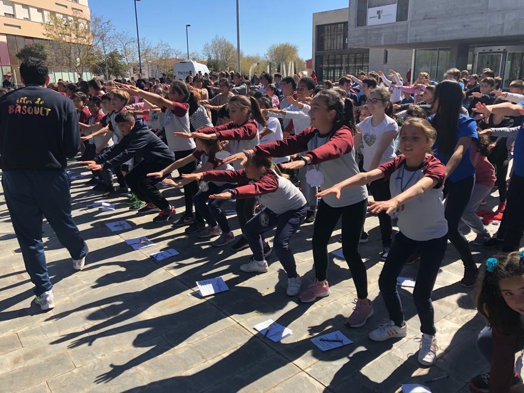 Imagen de archivo del Día Mundial de la Actividad Física de 2019 (Foto: Tolo Mercadal)