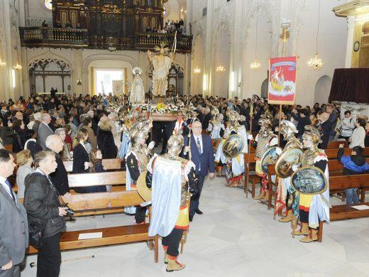 (Fotos y vídeos) L'Encontre  pone el punto final a las celebraciones extraordinarias de la Semana Santa
