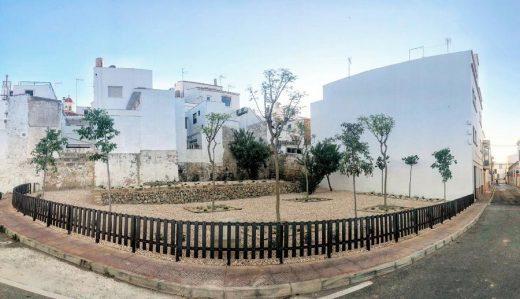 Finalizan las obras del nuevo jardín de la calle de Roig de Maó