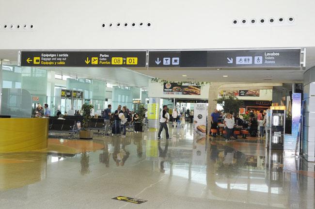 El aeropuerto ha sido elegido por los usuarios de sus instalalaciones