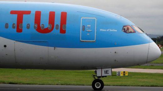 Avión de la compañía Tui.
