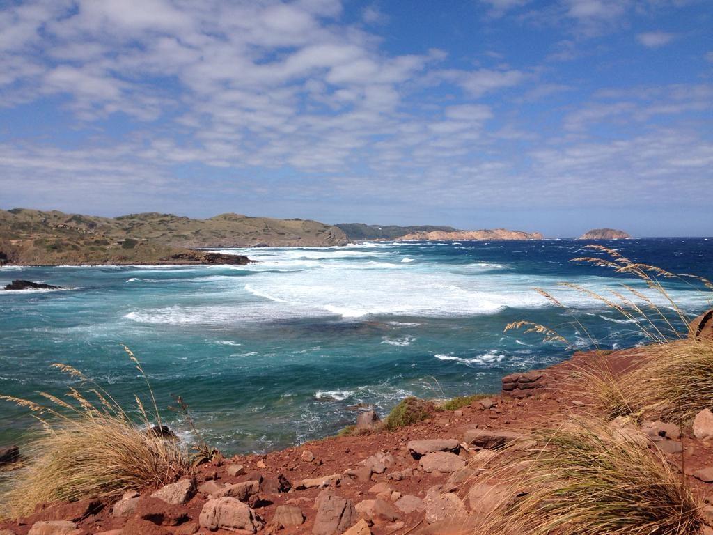 El mar estará agitado en la costa norte de la isla