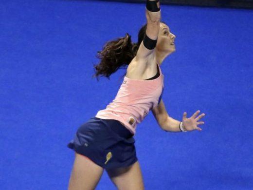 (Vídeo y fotos) Gemma Triay, en semifinales del Open de Vigo