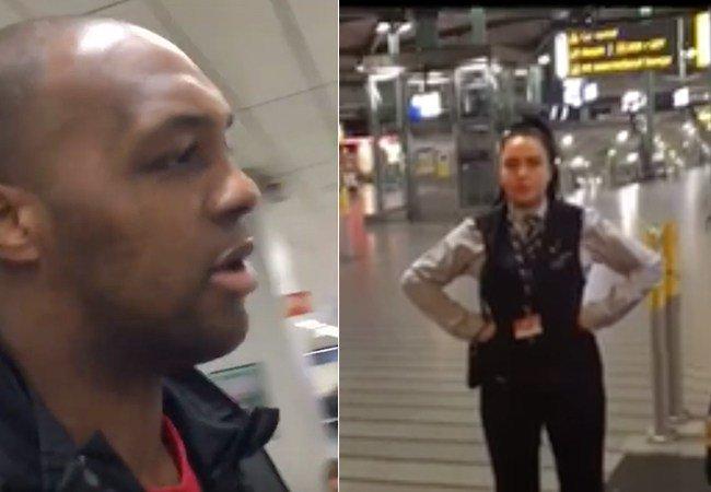 Incidente en el aeropuerto.