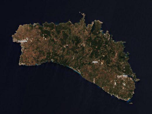 (Fotos) Menorca, vista desde el espacio