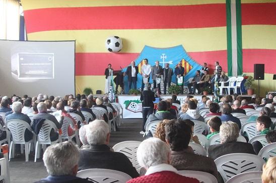 Imagen de un momento de la gala (Fotos: deportesmenorca.com)
