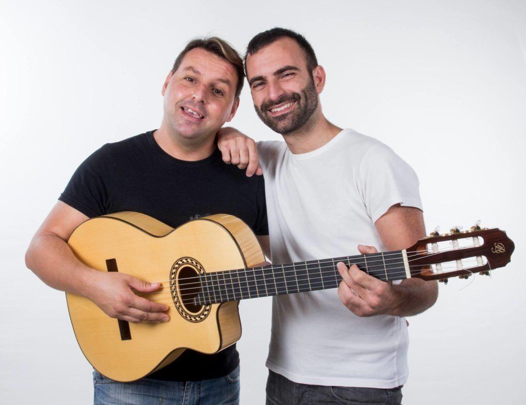 Imagen del dúo musical Fusiona2.