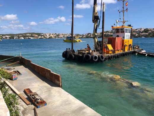 (Fotos) Las máquinas que abrazan el mar