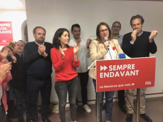Susana Mora, continuará siendo la presidenta del Consell de Menorca