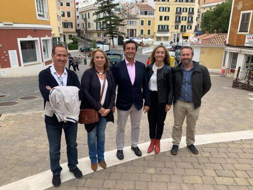 Los candidatos del PP en la campaña
