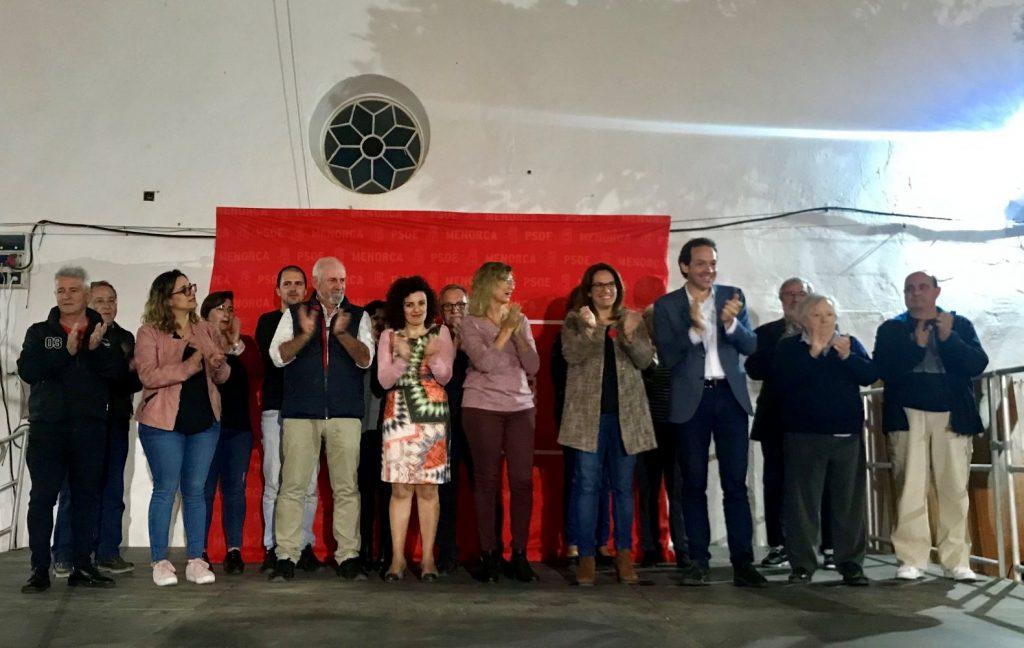 Presentación de la candidatura del PSOE al Ayuntamiento de Es Castell