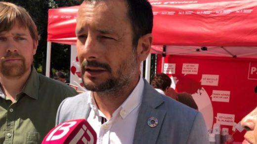 Rafael Ruiz, candidato socialista a la alcaldía de Ibiza (Foto: Mallorcadiario.com)