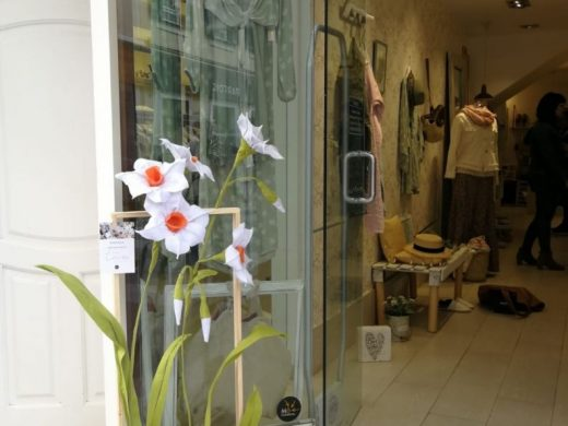 (Fotos) Los comercios de Maó crean la Ruta de las Flores