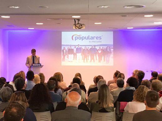 Imagen de la presentación de la candidatura.