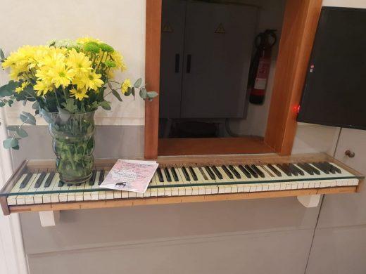 Un pedazo de piano para el Orfeó