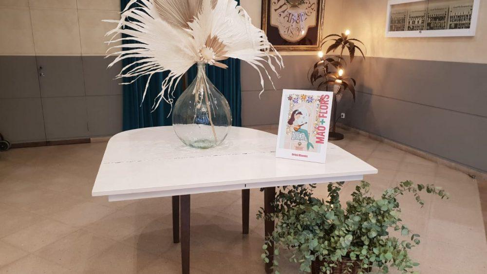 Antes un piano, ahora una mesa.