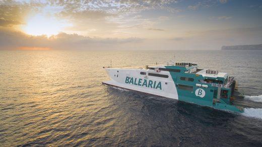 Fast ferry que unirá Menorca y Barcelona (Foto: Baleària)