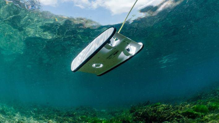 Robot submarino.