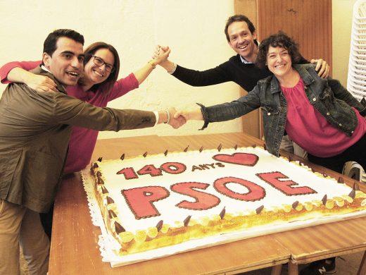 (Vídeo y fotos) El PSOE Menorca enseña músculo