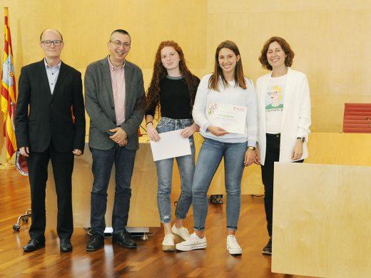 (Fotos) Las mejores escritoras juveniles son de Maó