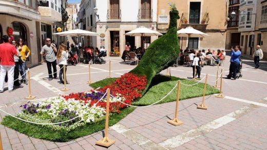 Decoración floral en la edición del año pasado (Foto: Tolo Mercadal)