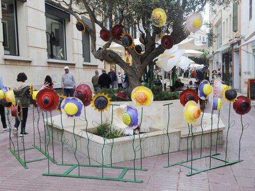"""(Fotos) Música, luz y color en el """"Maó+Flors"""""""