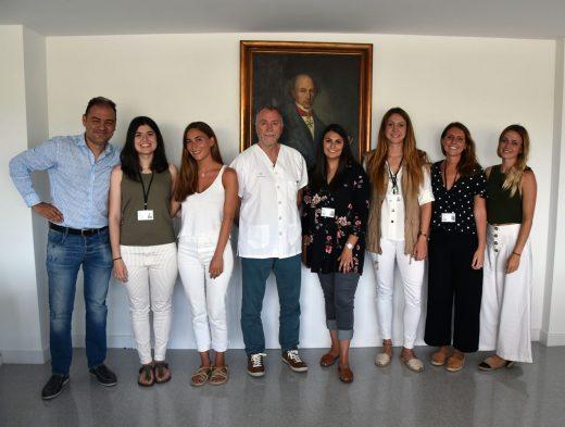 Imagen de los nuevos residentes (Foto: Àrea de Salut de Menorca)