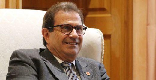 Huguet, durante la entrevista (Foto: mallorcadiario.com)