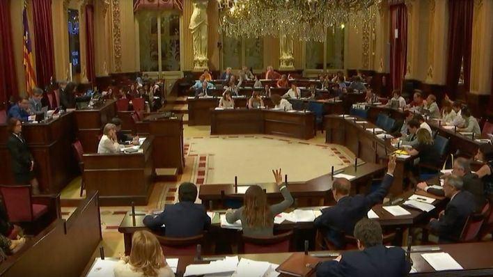 Imagen de archivo del Parlament (Foto: mallorcadiario.com)