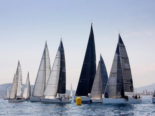(Fotos) El espectáculo de la regata Menorca Sant Joan